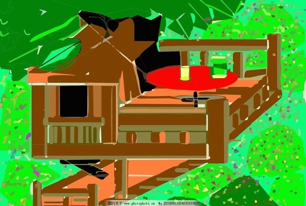 小木屋图片