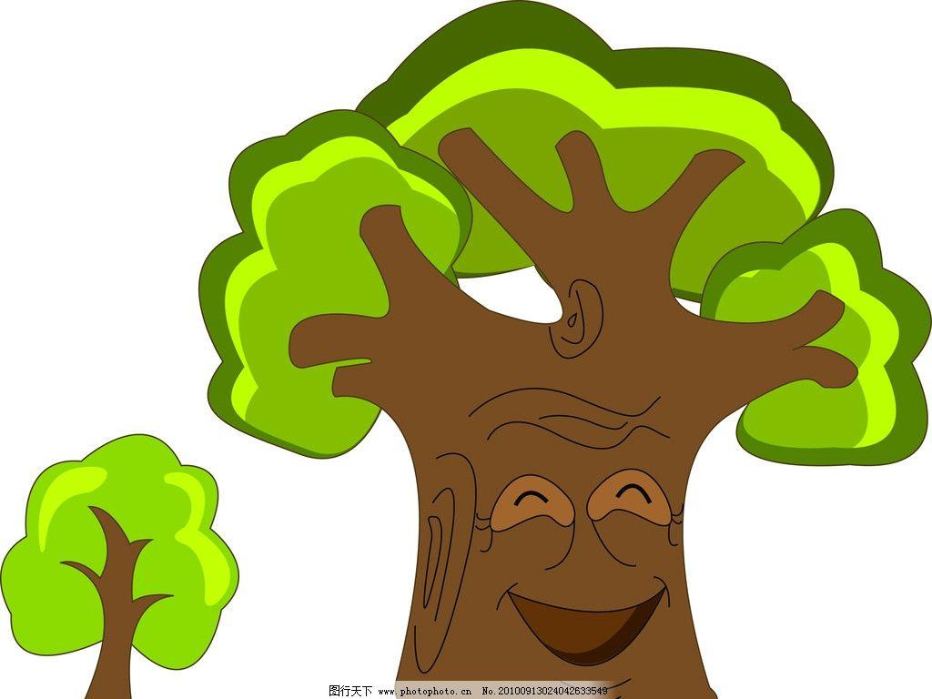 大树拼贴画步骤 幼儿园