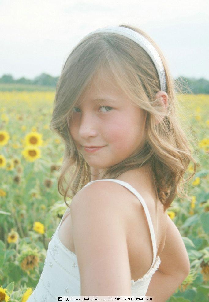 可爱 清纯 外国小女孩