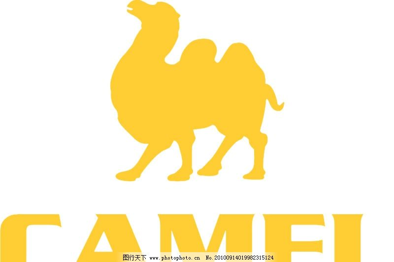 骆驼 标识标志图标 矢量
