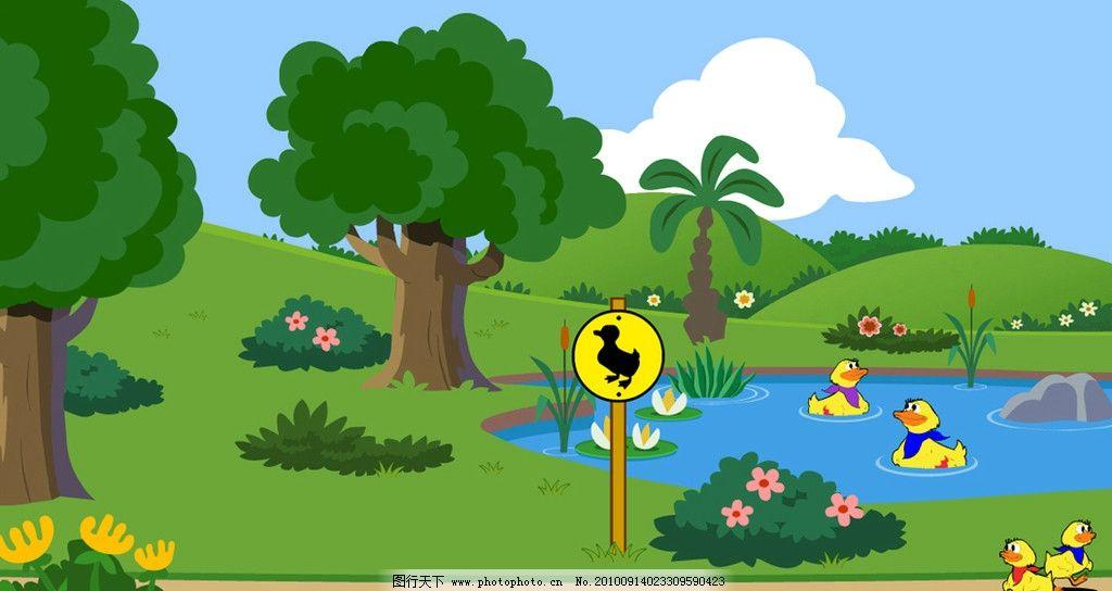 森林5d矢量图片