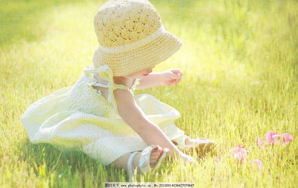 小女孩 可爱 清纯 外国小女孩