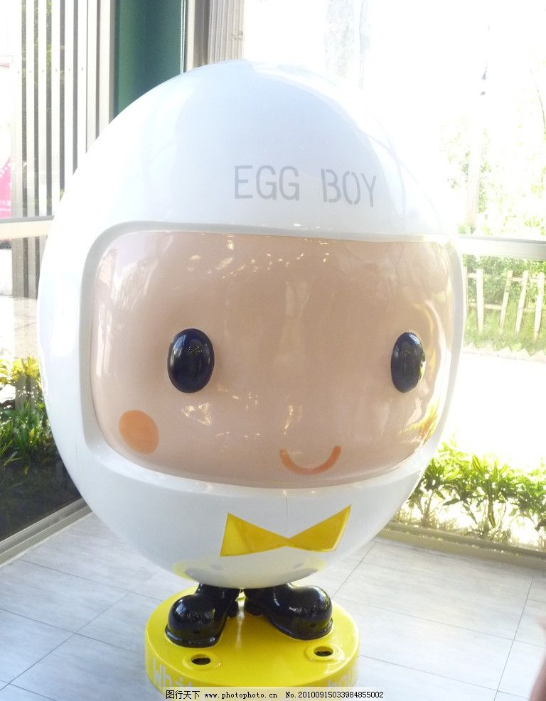 白木屋蛋宝宝 蛋宝宝 白色蛋宝宝 白木屋 可爱娃娃 雕塑 国内旅游