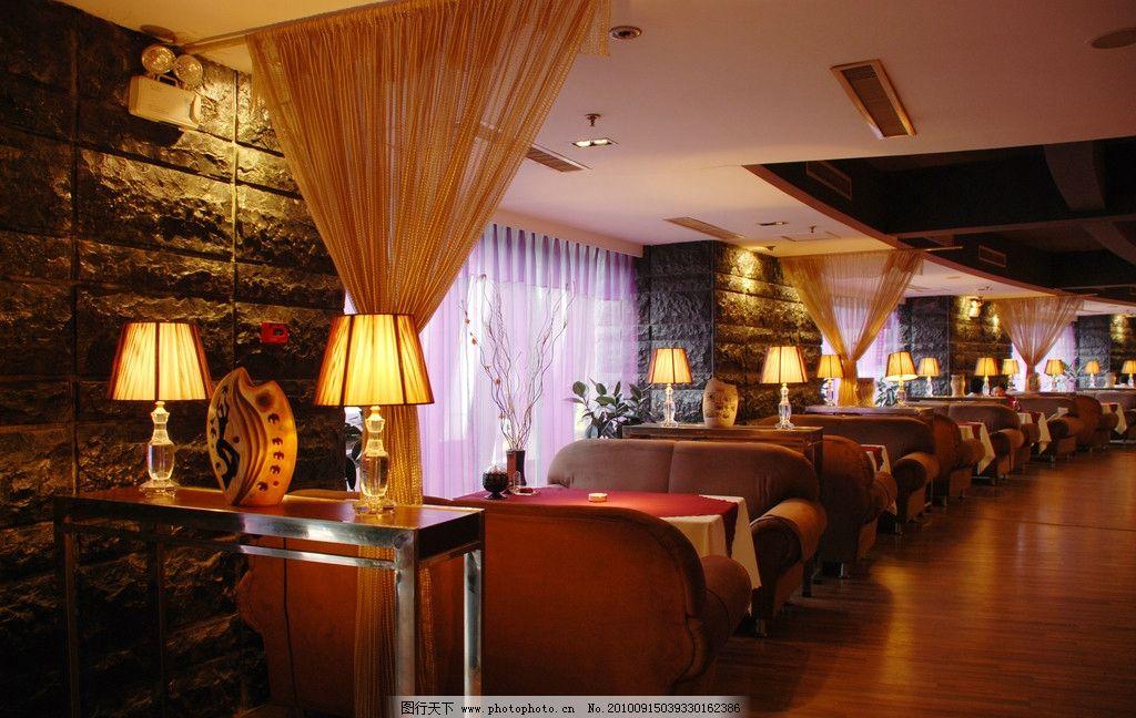 咖啡厅内部装修图片
