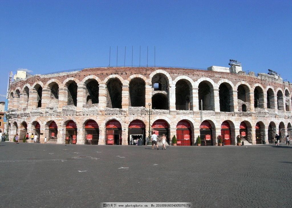 意大利 维罗纳 欧式 罗马拱券 欧式雕塑 雕塑 欧式建筑 欧洲古建 石材