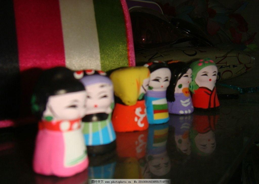 泥娃娃摄影 泥娃娃 设计 摄影 可爱娃娃 手工作品 传统文化 文化艺术