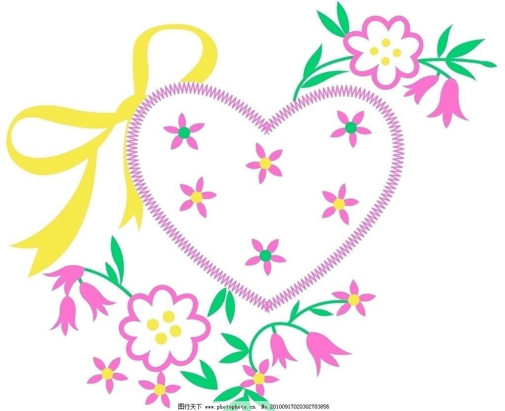 花纹 碎花填心 蝴蝶结 风彩依旧 花边花纹 底纹边框