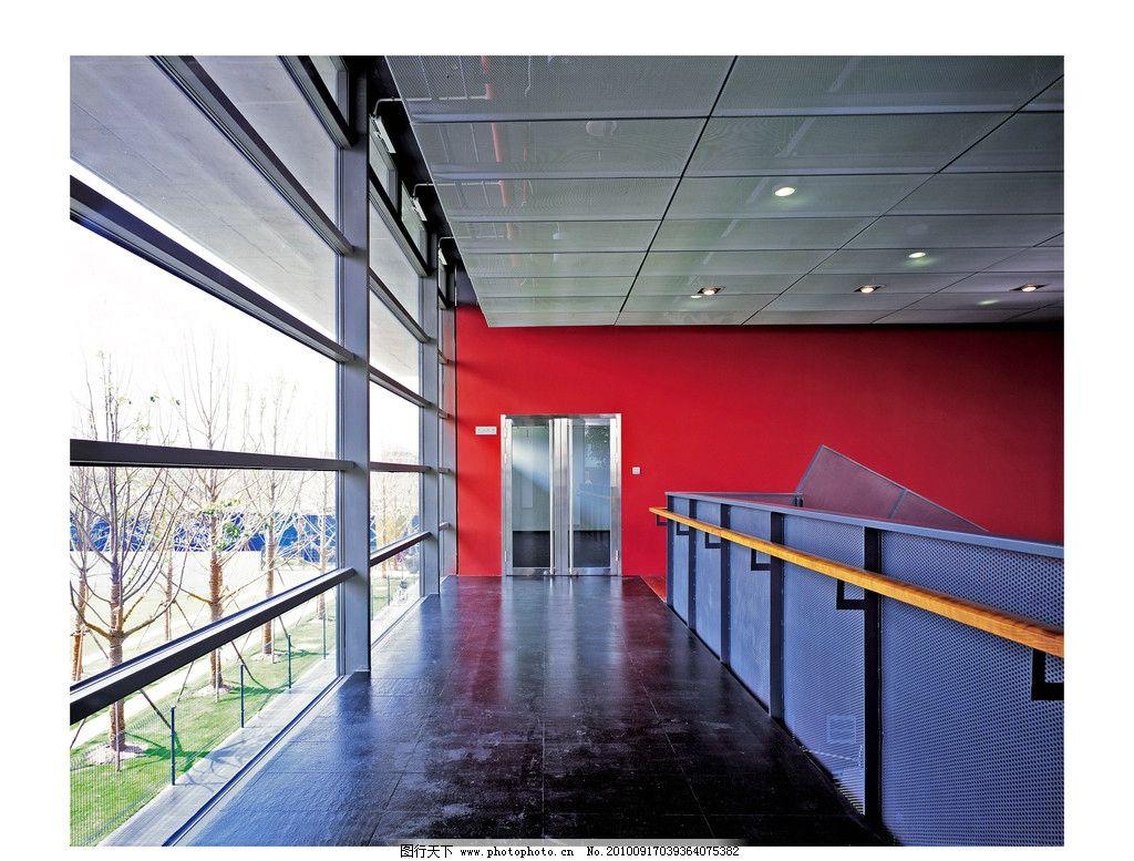 万科蓝山 玻璃门 玻璃墙 天花板 室内 装修 铁网 室内摄影 建筑园林