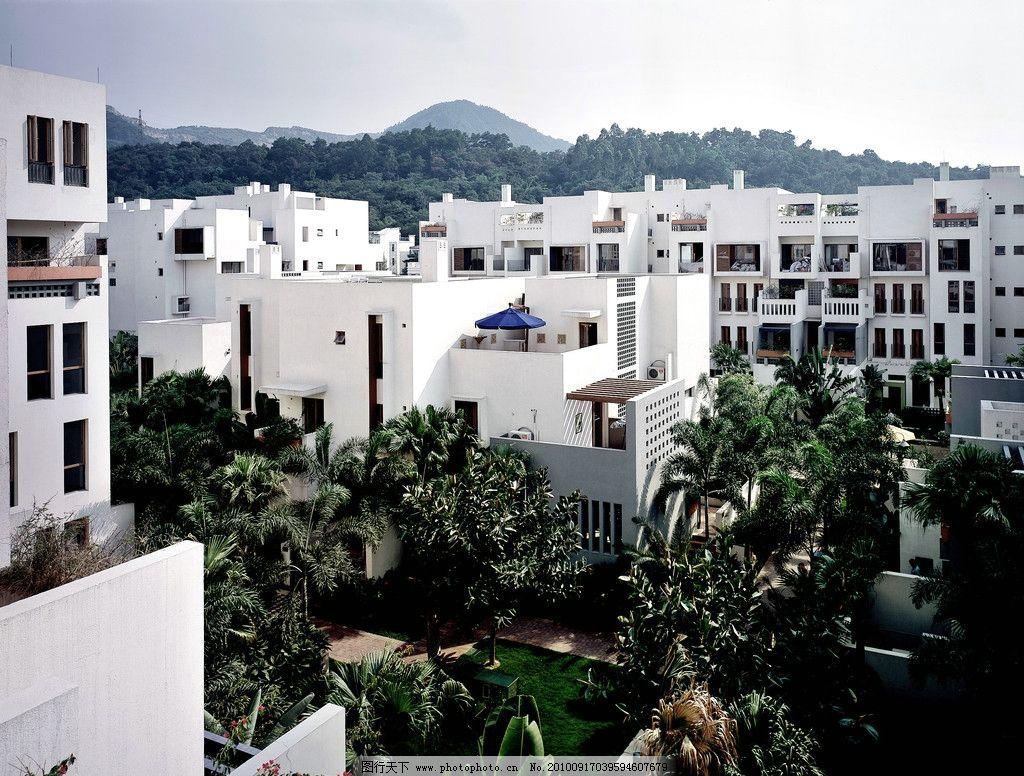万科蓝山 小区 楼房 花园 风景 建筑 高清 树 小区鸟瞰图 鸟瞰图