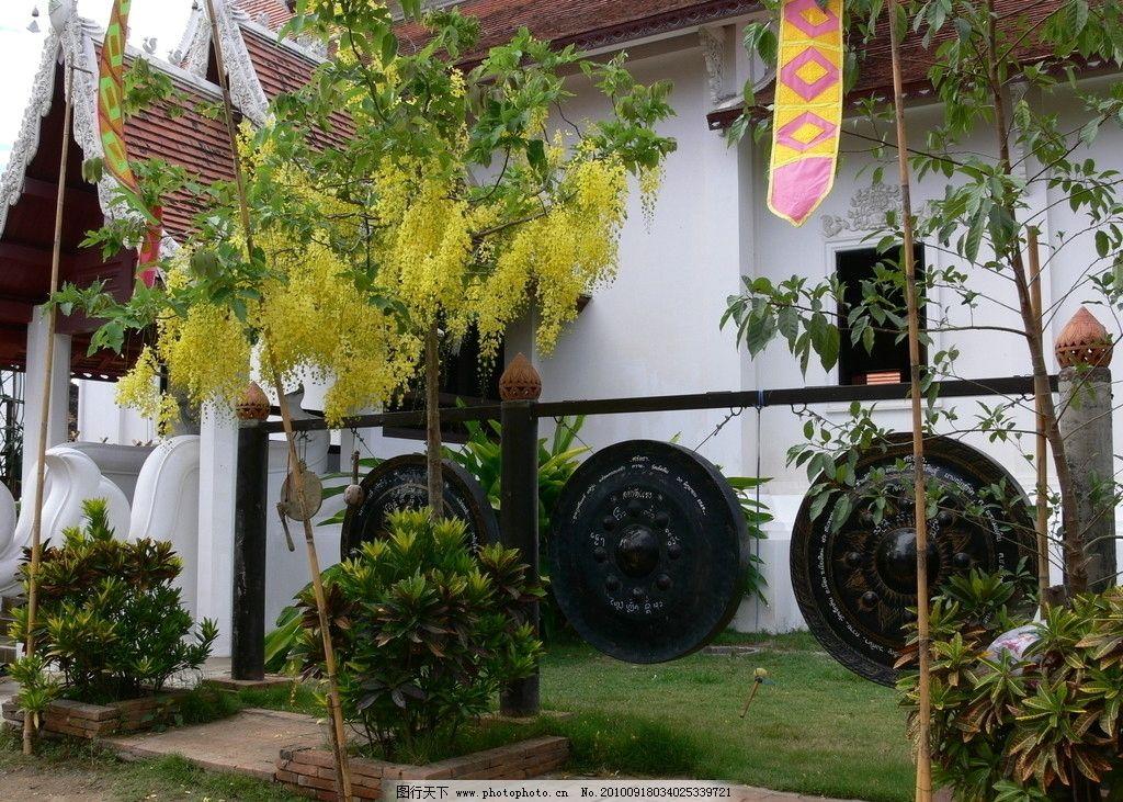 清迈 风格/泰国 清迈之寺庙兰纳风格建筑图片