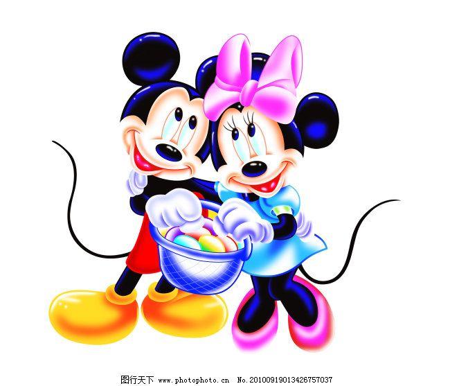 节日主题 米奇 米老鼠 米妮 米奇与米妮 卡通 可爱卡通 卡通人物 卡通