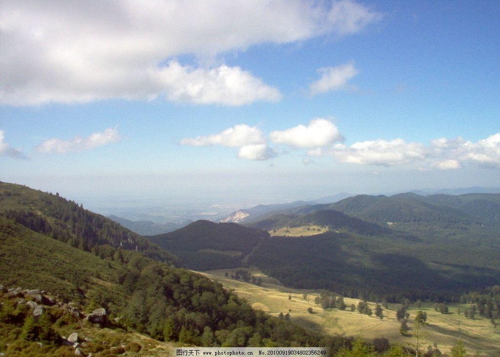 自然风景  山间美丽风光 风光摄影图片 自然风光 风光摄影 山区景色