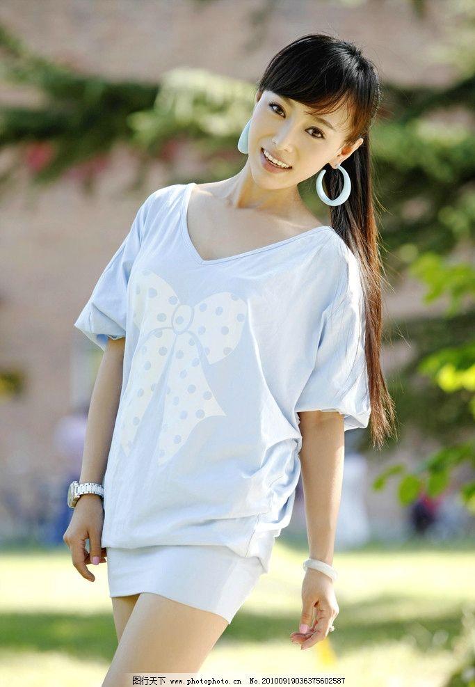 韩一菲 青年演员 模特 美女 玉女 青春 青纯 亮丽 美丽 可爱 美少女