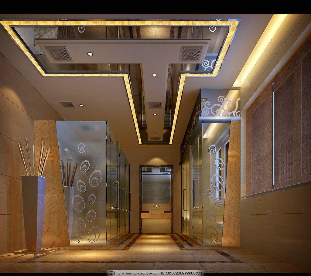 室内设计 冲凉房 大厅 室内装修 房间设计 室内布局 室内灯光