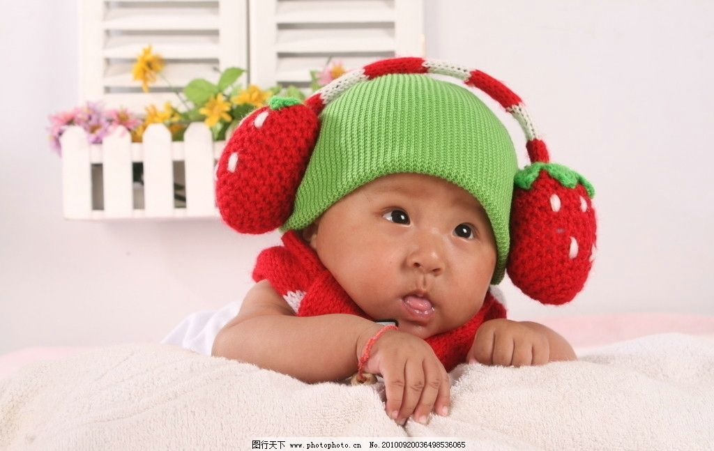 小宝宝嘟嘴头像可爱