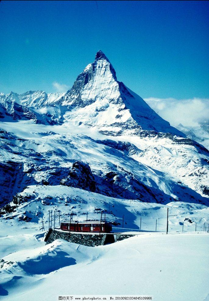 雪景图片_自然风景_自然景观_图行天下图库