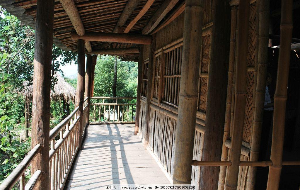 洪恩岩 小竹楼内部结构图片