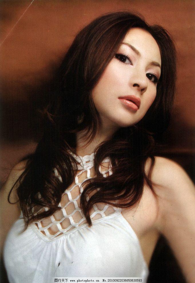 烫发美女 发型 模特 女性女人 人物图库 摄影图片