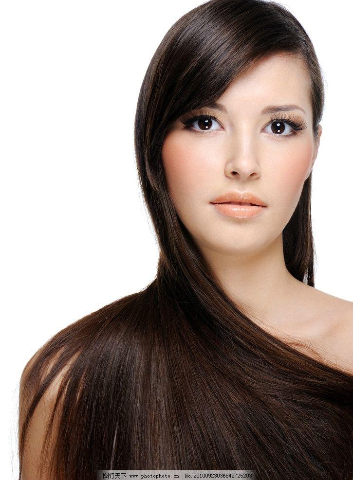 美女发型图片_女性女人_人物图库_图行天下图库