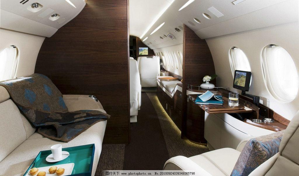 飞机仓内 室内设计 摆件