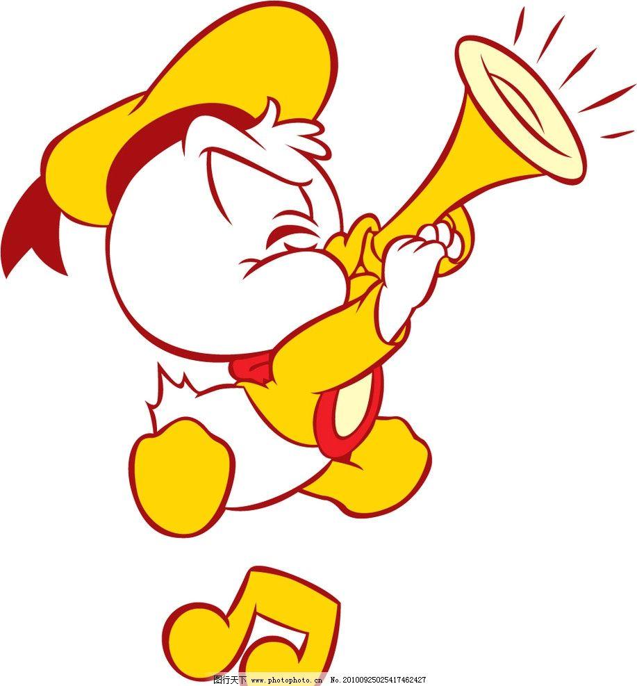 唐老鸭宝宝 米奇 迪斯尼 音乐 卡通 动漫 漫画 可爱 矢量 其他生物