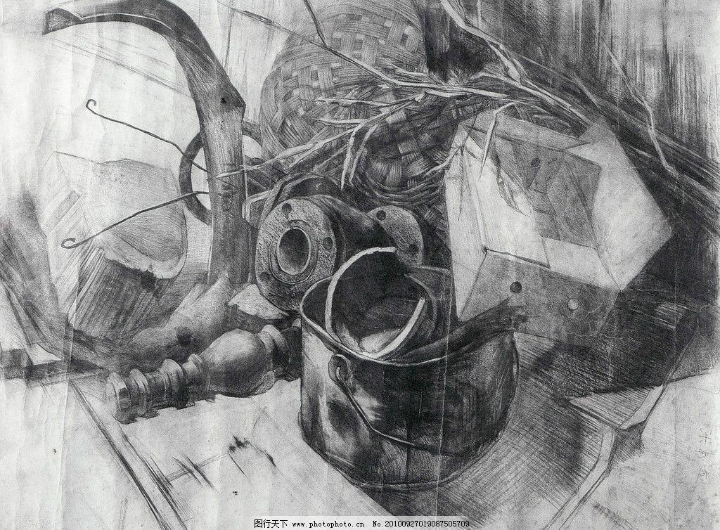 实验素描图片_绘画书法_文化艺术_图行天下图库