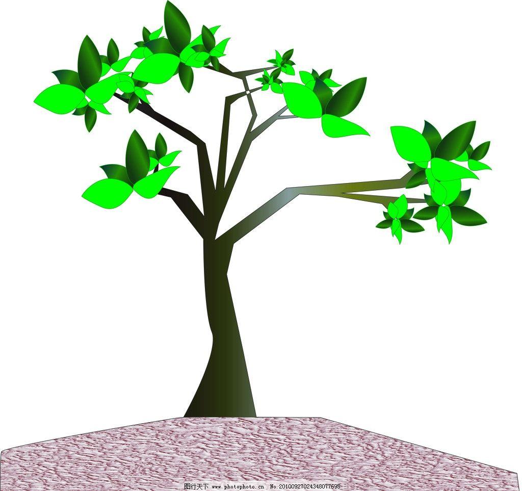小树 清新 自然 其他 自然景观