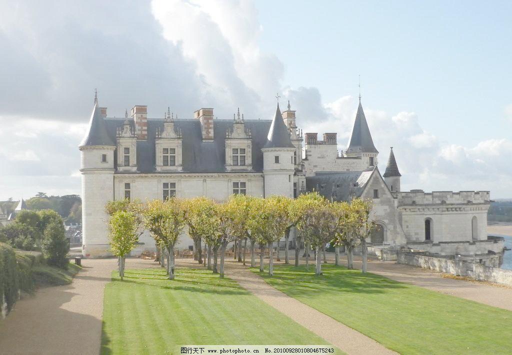 欧式城堡风光图片