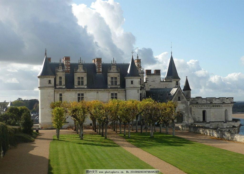 欧式城堡风光 风光摄影图片 建筑风光 建筑摄影 欧式建筑 城堡建筑