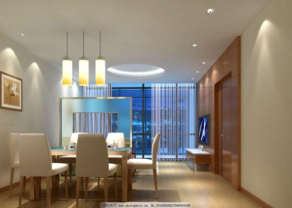 餐厅 餐厅效果提 室内效果图 室内        室内设计 环境设计 设计