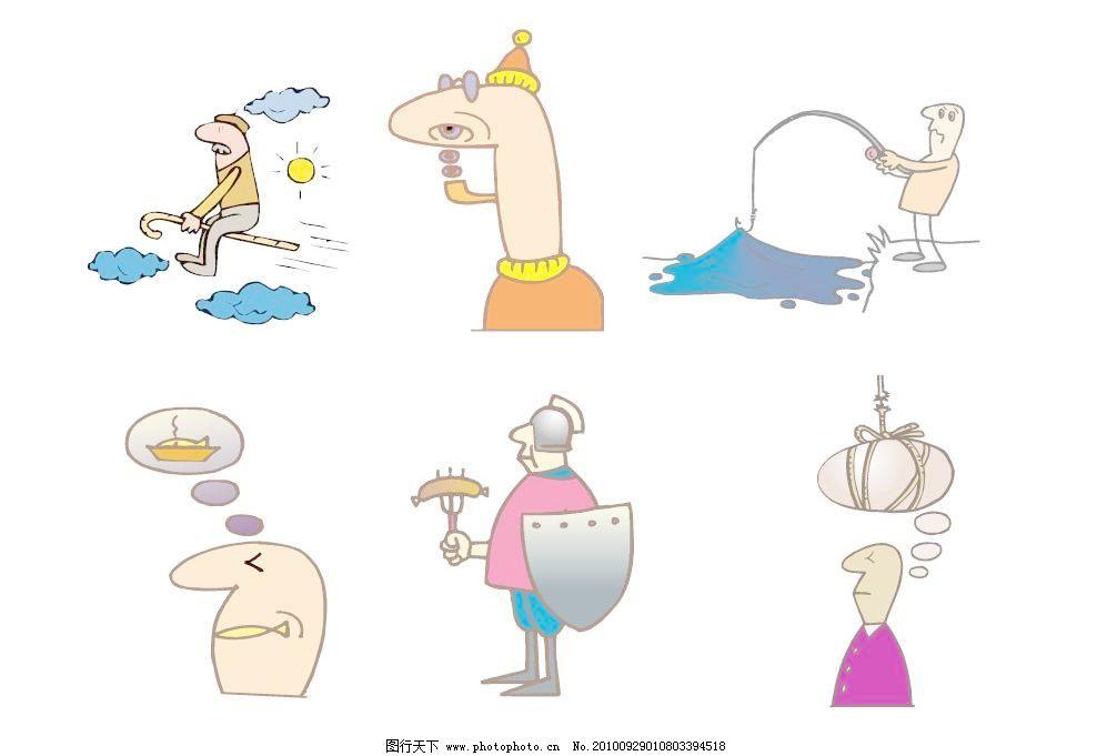 欧式卡通人物图片