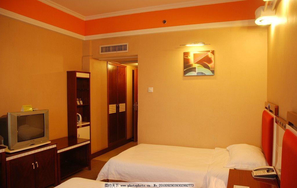 宾馆式的房间装修图片