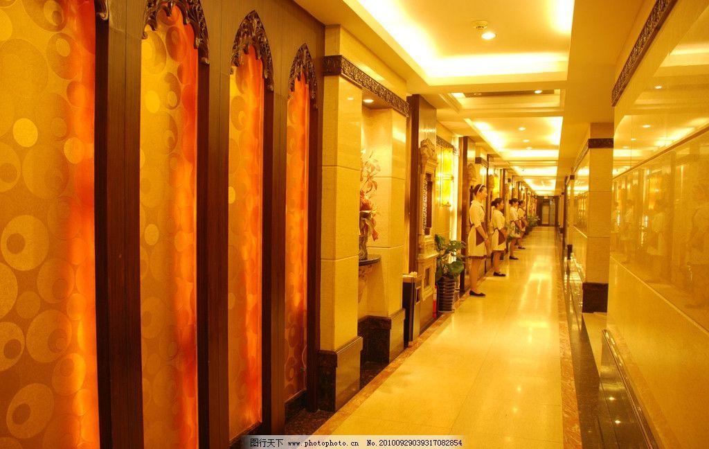 餐饮酒店走廊图片